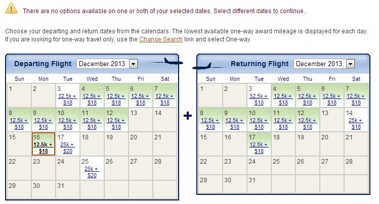 Alaska No options Calendar
