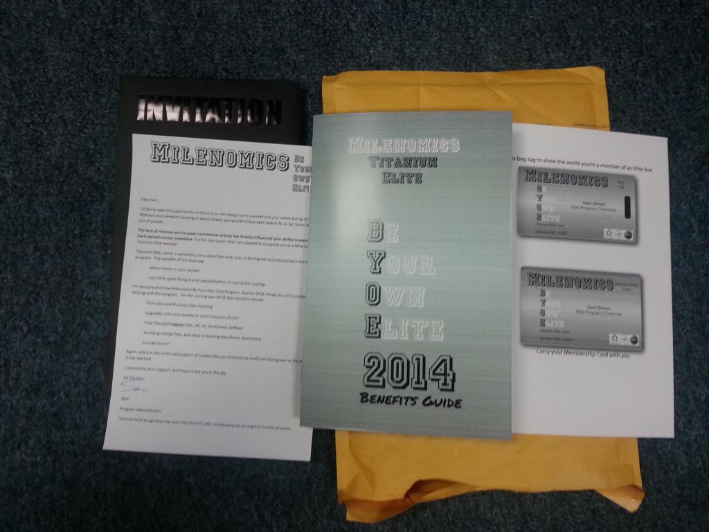 BYOE Package 1